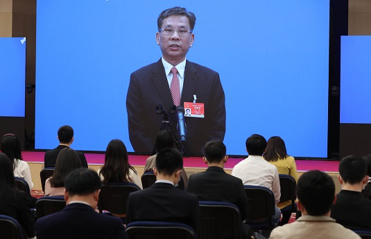 Ministers interviewed after 4th session of 13th NPC opens