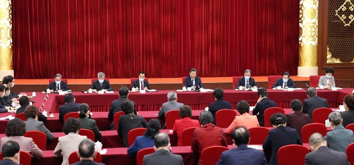 Xi stresses giving 'strategic priority' to safeguarding people's health